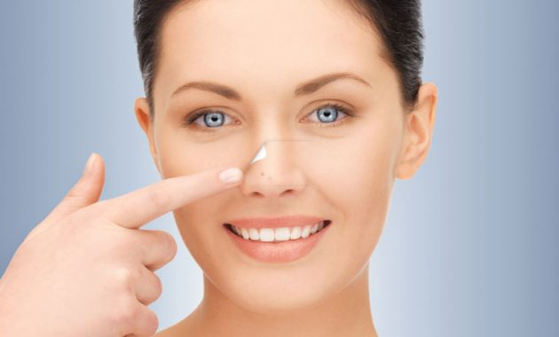 get rid of acne in the nose