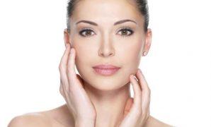Clean face skin
